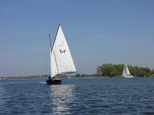 start to sail